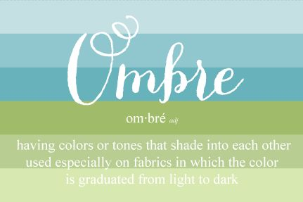 ombre love: Colour, Color Inspiration, Color Charts, Ombre Color, Blog, Night Stand