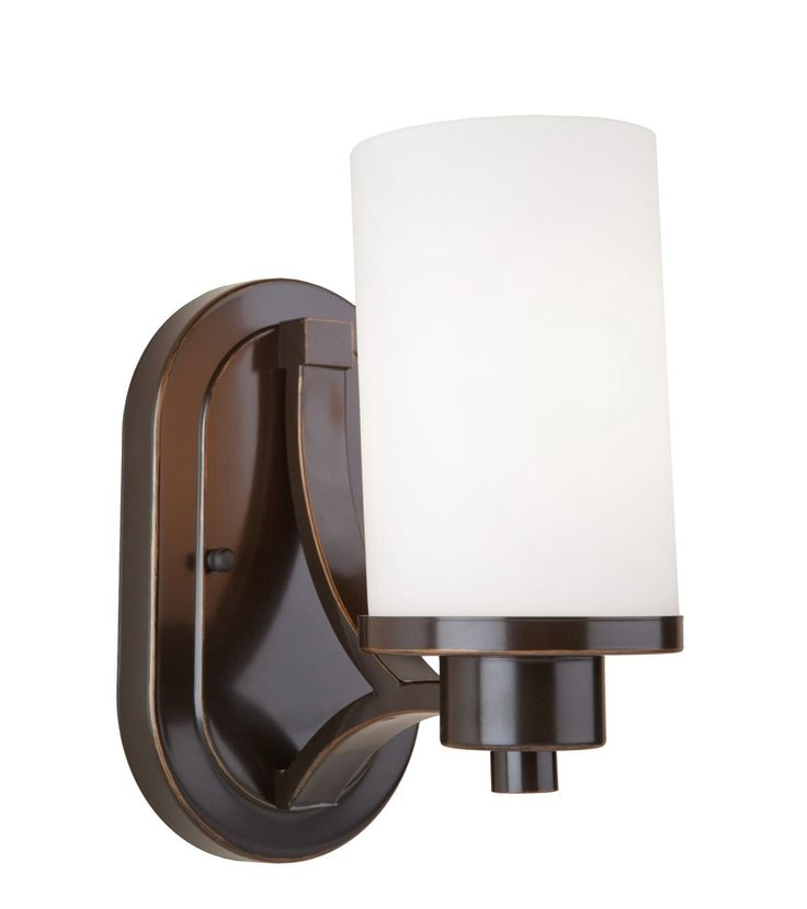Parkdale 1 Light Wall Sconce152 best Lighting images on Pinterest   Wall sconces  Lighting  . Bathroom 1 Light Sconces. Home Design Ideas