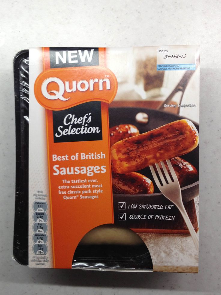 packaging sausages