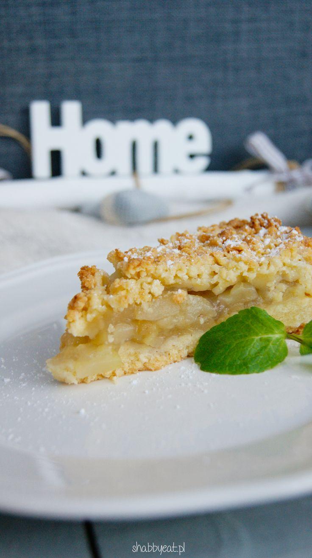 szarlotka gruszkowa / polish pear pie  recipe