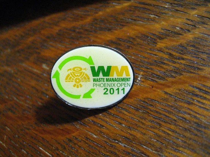 Waste Management Phoenix Open Lapel Pin - 2011 Arizona USA PGA Golf Tournament  #WasteManagementPhoenix