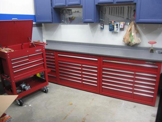 harbor freight tool boxes - the garage journal board   tool bench ...