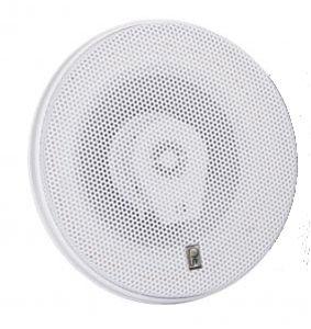 "Poly-Planar MA8506-W Titanium Series 6"""" 3 Way Round High Power Speaker White"