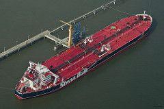 Stena Supreme Öltanker in Wilhelmshaven