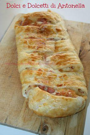 Rotolo di pasta sfoglia con salumi e formaggio affumicato, Ricetta veloce