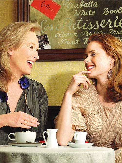 Amy Adams and Merly Streep
