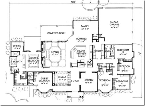 Eplans New American House Plan   Mission Impossible   4666 Square Feet And  6 Bedrooms From Eplans   House Plan Code