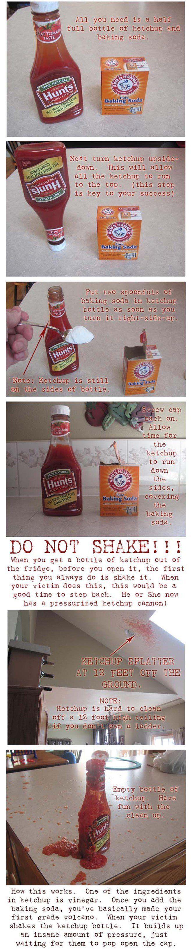Ketchup April Fools Prank