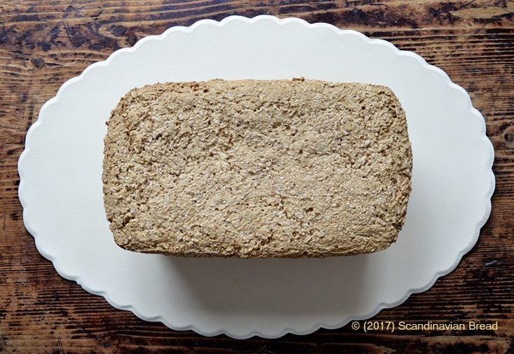 No-knead Sourdough Grain Bread  A healthy whole-grain bread for tasty sandwiches.