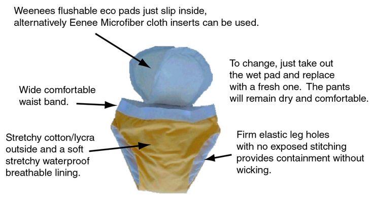 Eenee Undies -$40. Use w microfibre or compostable pad inserted