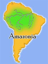 amazonia interactive and lesson plans for teaching about the Amazon Rainforest
