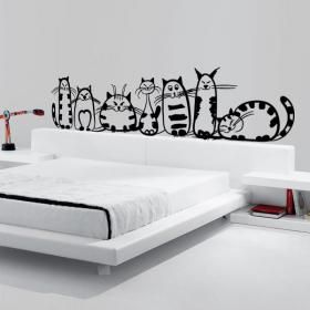 M s de 25 ideas incre bles sobre murales de dormitorio en for Vinilos para paredes exteriores
