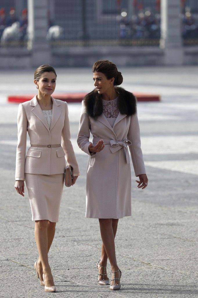 Juliana Awada y Letizia Ortiz: las 7 coincidencias del look