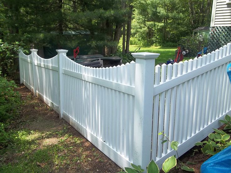 72 Pvc Vinyl Colonial Swoop Picket Fence White 4 X8