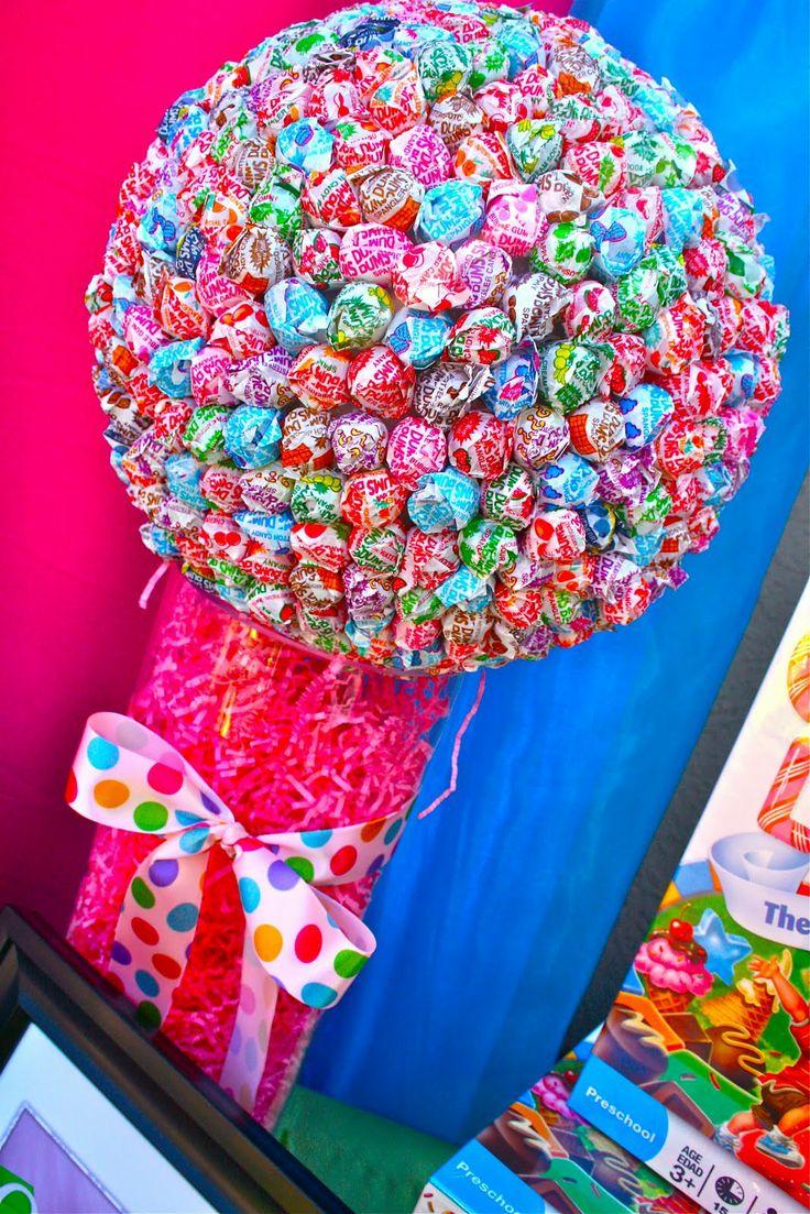 Candyland Centerpieces Jackie Sorkinu0027s Fabulously Fun