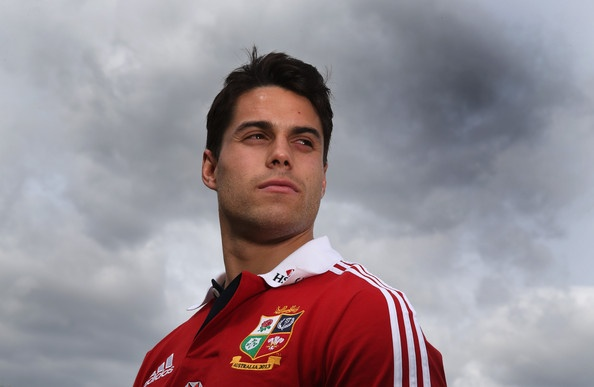 Sean Maitland poses during the British and Irish Lions media day at Syon Park on May 13, 2013 in London, England.