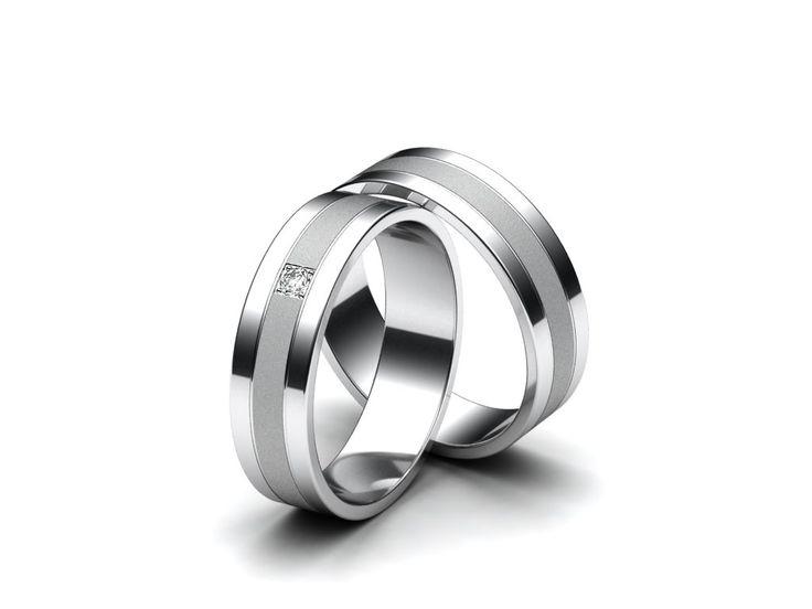 Aiola Snubní prsteny A93