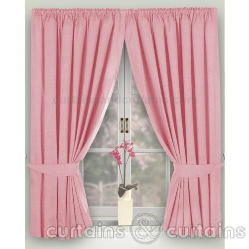 Pink Bedroom Curtains Uk