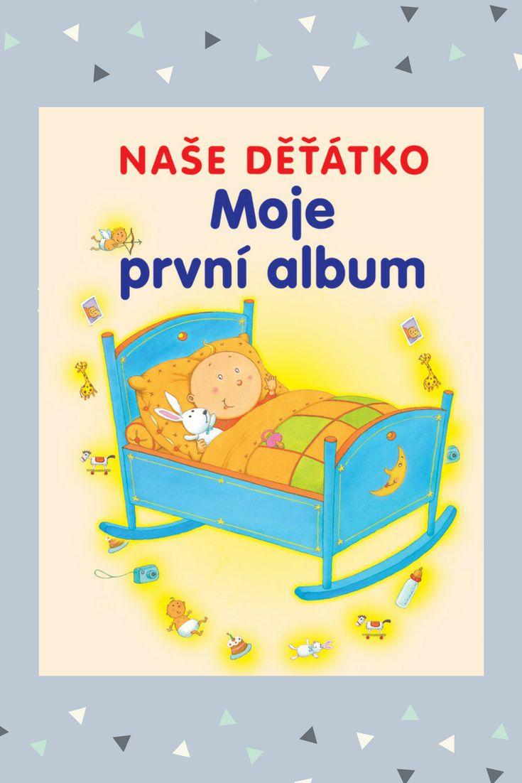 Do tohoto alba plného nádherných ilustrací si rodiče mohou zaznamenávat nejkrásnější vzpomínky na svoje miminka. #kniha #album #mimi
