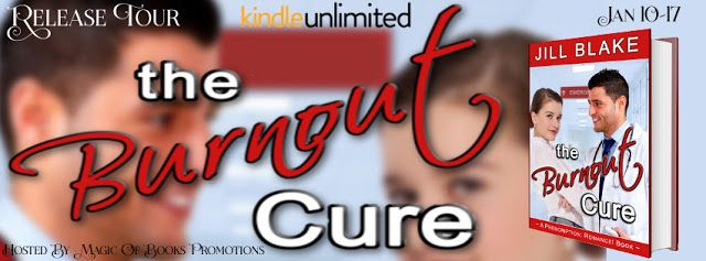 Tome Tender: The Burnout Cure by Jill Blake Release Tour & #Giv...