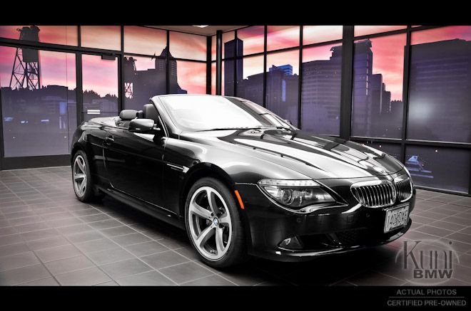 Certified 2009 BMW 650i Convertible at Kuni BMW. Sweet!