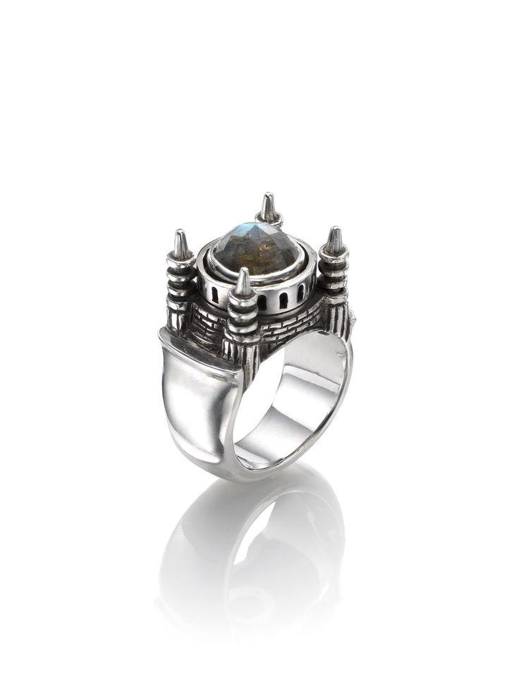 Silver Istanbul Ring | Zara Simon