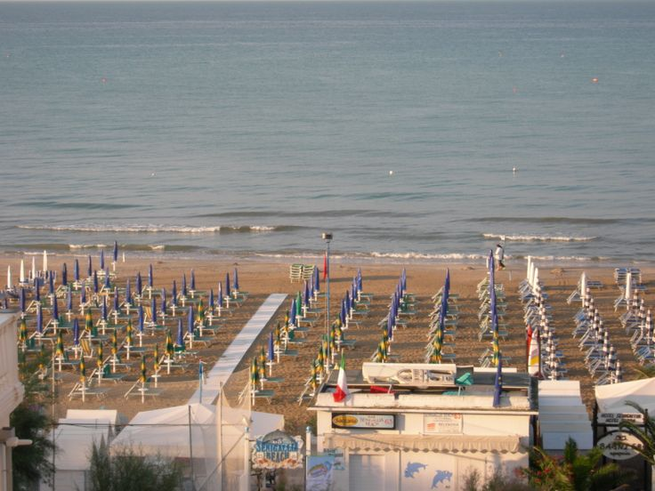 Senigallia, il mare dopo la pioggia, giugno 2014.