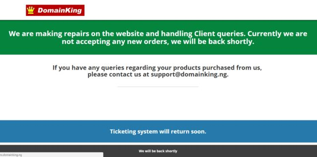 Unbanned: NIRA Board Reinstates Domainking.ng to Registrars Fold After being suspended earlier in the year for non-compliance to terms of service,the Nigeria Internet Registration Association (NiRA), the country's domain name Registry, has lifted the temporary ban placed on Domainking.ng.    Mrs Edith Udeagu, chief operating officer of NIRA said that on Friday 24th March 2017, an official representative of Hannu Internet Corp PVT LTD, the manager of DomainKing.ng, informed the .ng Registry…