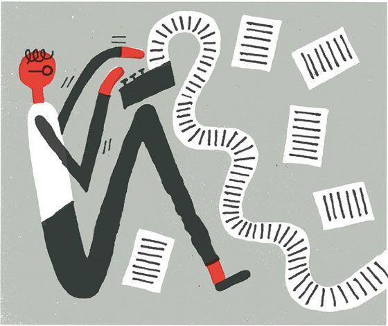 Simple illustrations by Benoit Tardif