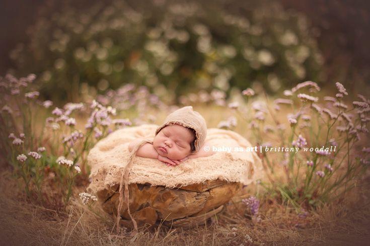Brittany Woodall - Baby as Art - Newborn Posing Props