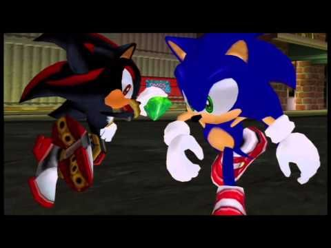 Sonic Adventure 2: Battle Playthrough #1: Say Something, You Fake Hedgeh...