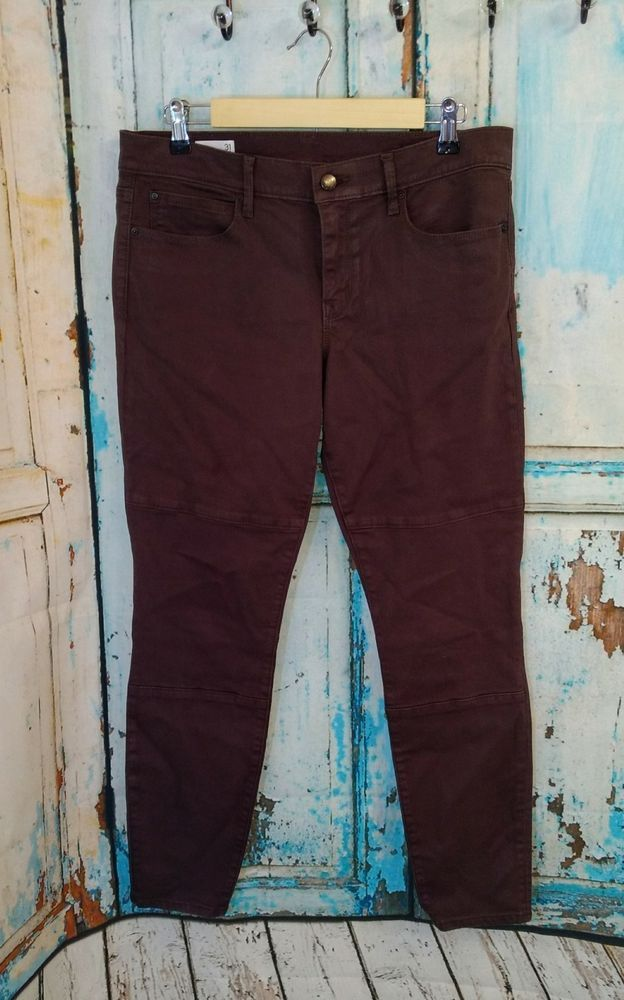GAP 1969 Women's Size 31 Brown Legging Jean Pants Skinny Ankle  | Clothing, Shoes & Accessories, Women's Clothing, Jeans | eBay!