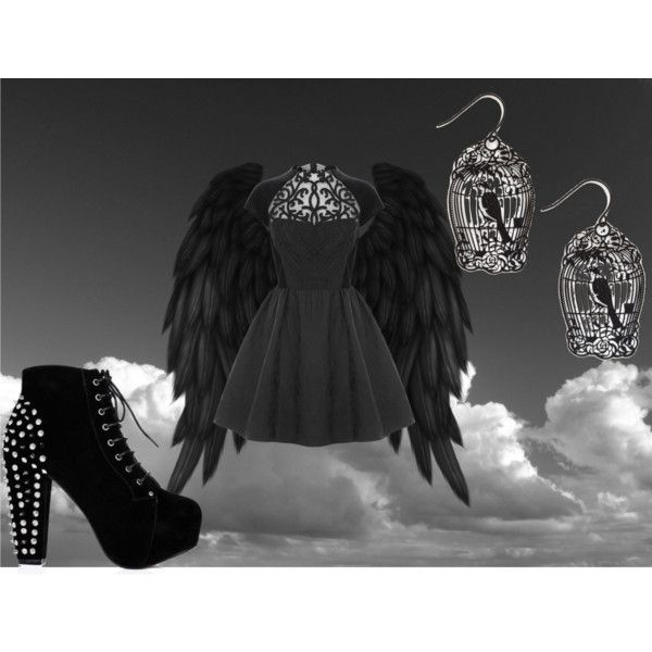 Fang (Maximum Ride), created by skippy42099 on Polyvore