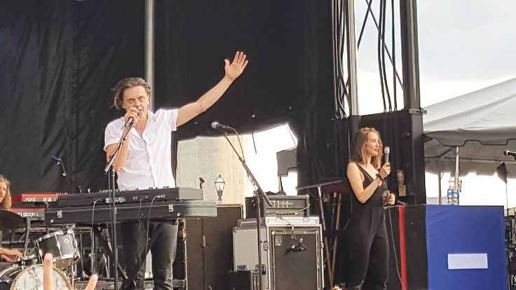 @julytalk was unreal the other night at #canalside in #buffalo . . #concert #julytalk #canalsidebuffalo #music #picoftheday #visual #instalike