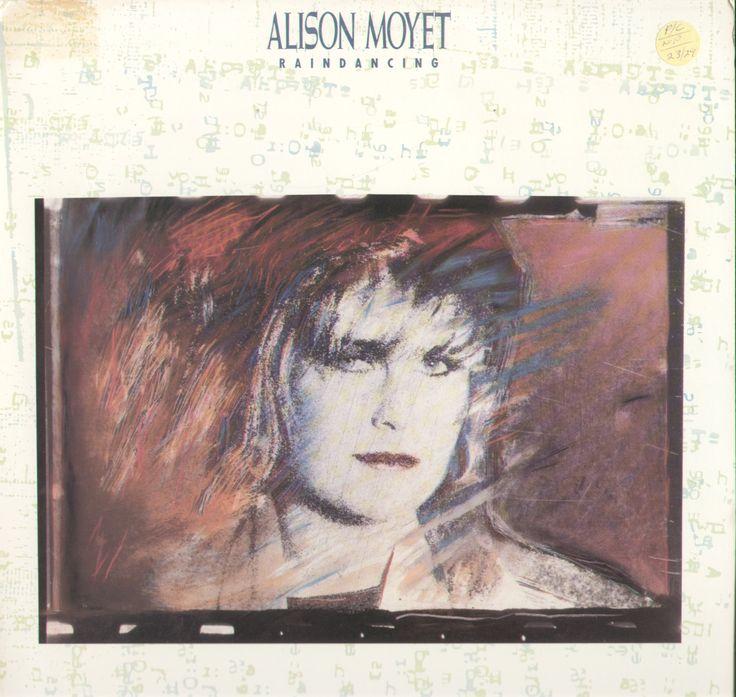 Alison Moyet Raindancing Vinyl LP Record Album