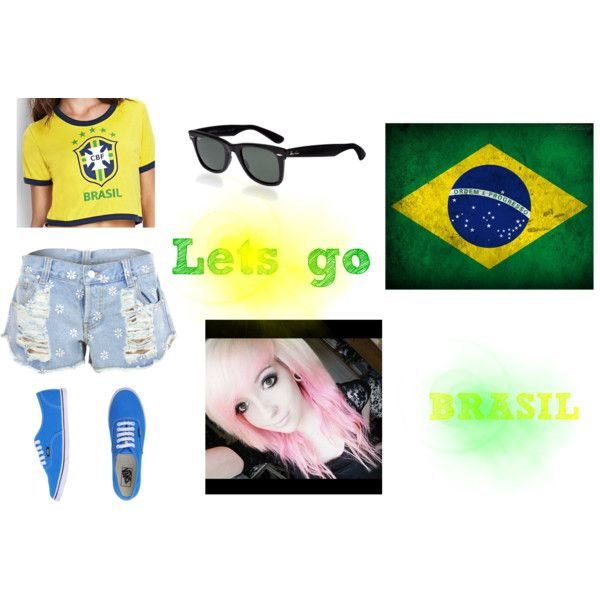 """""""BRASIL!"""" by ms-maria1d on Polyvore"""