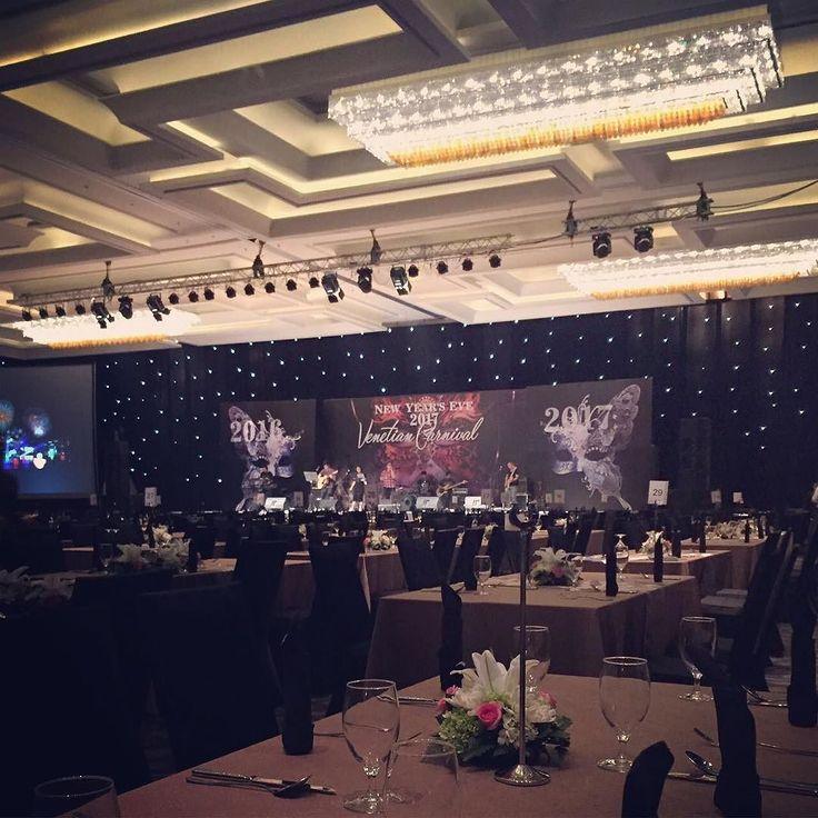 Getting ready for tonight show Count & New Years Eve Party with Regina Ivanova at our Grand Ballroom @sheratongandaria . . #sheratongrandjakarta #sheratongandaria #newyearseve2016 #countdown2017 #venetiancarnival #galadinner #galadinner2016 #sheratongrandjakartaballroom