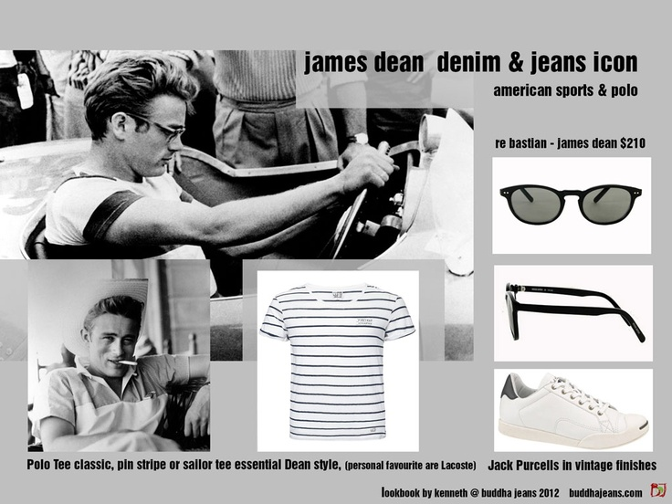 James Dean Look-Book American sport and Polo. Kenneth @ buddha Jeans