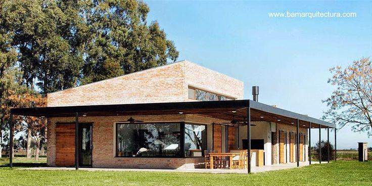 Una obra residencial con identidad de las construcciones tradicionales en Saladillo, prov. de Buenos Aires