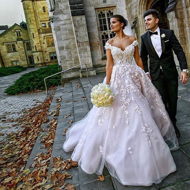 Danielle Wears Custom Steven Khalil For Her Melbourne Wedding