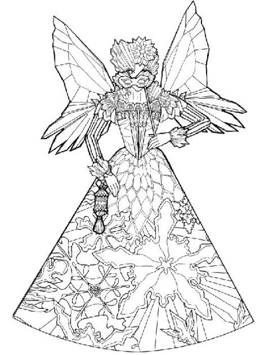 Fairy and Fairies Kids Coloring Pages Free Colouring ...