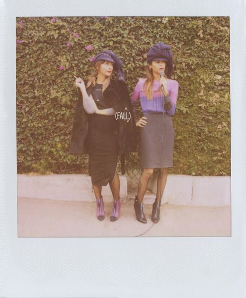 Fall: Rashida Jones and Her Sister in Latest Band of Outsiders Campaign