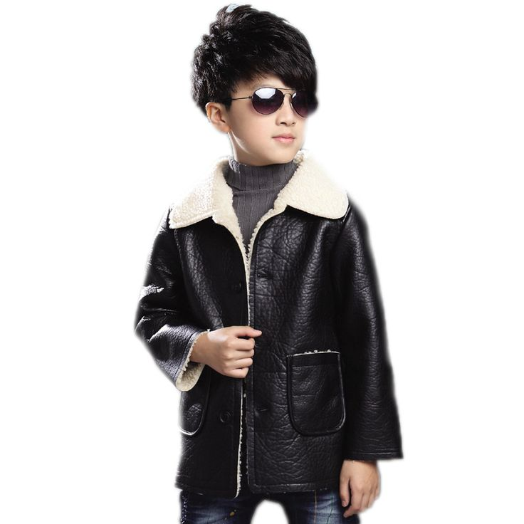 >> Click to Buy << 2017 children clothing waterproof windproof boy winter coats plus velvet thick warm boys leather jackets teenager boys outwear #Affiliate