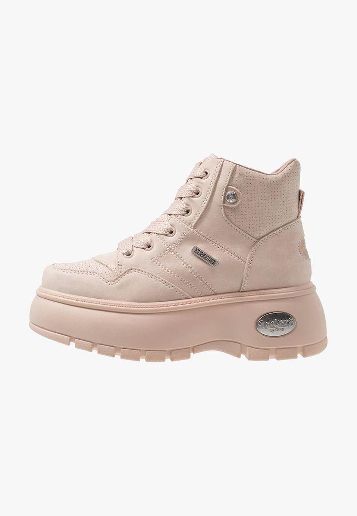 Dockers By Gerli Sneakersy Wysokie Rosa Zalando Pl Sneakers High Top Sneakers Top Sneakers