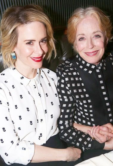 Surprise! Two and a Half Men alum Holland Taylor and American Horror Story star Sarah Paulson have been dating for at least six months. Get the details at Usmagazine.com!