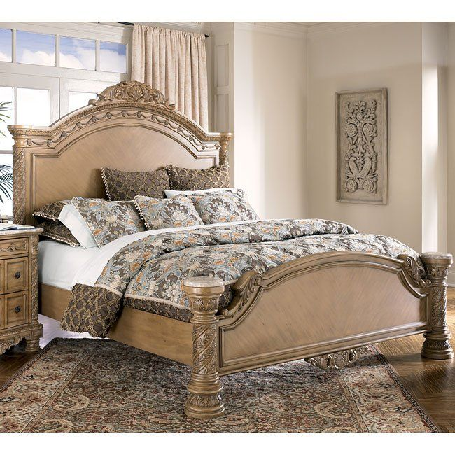 South Coast Panel Bed Vintage Bedroom Furniture Cheap Bedroom