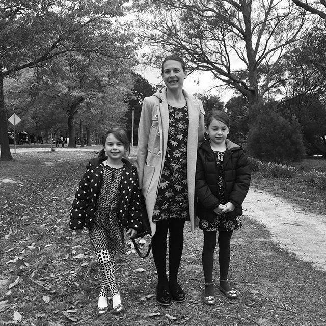 #coatson #mygirls #winter #paternclash #blackandwhitephotography #melbournefashion #melbournestyle #perfectday