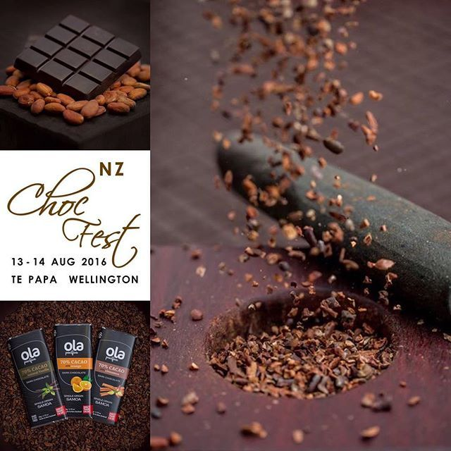 We are counting down the days until the @nzchocfest and we've got lots of…
