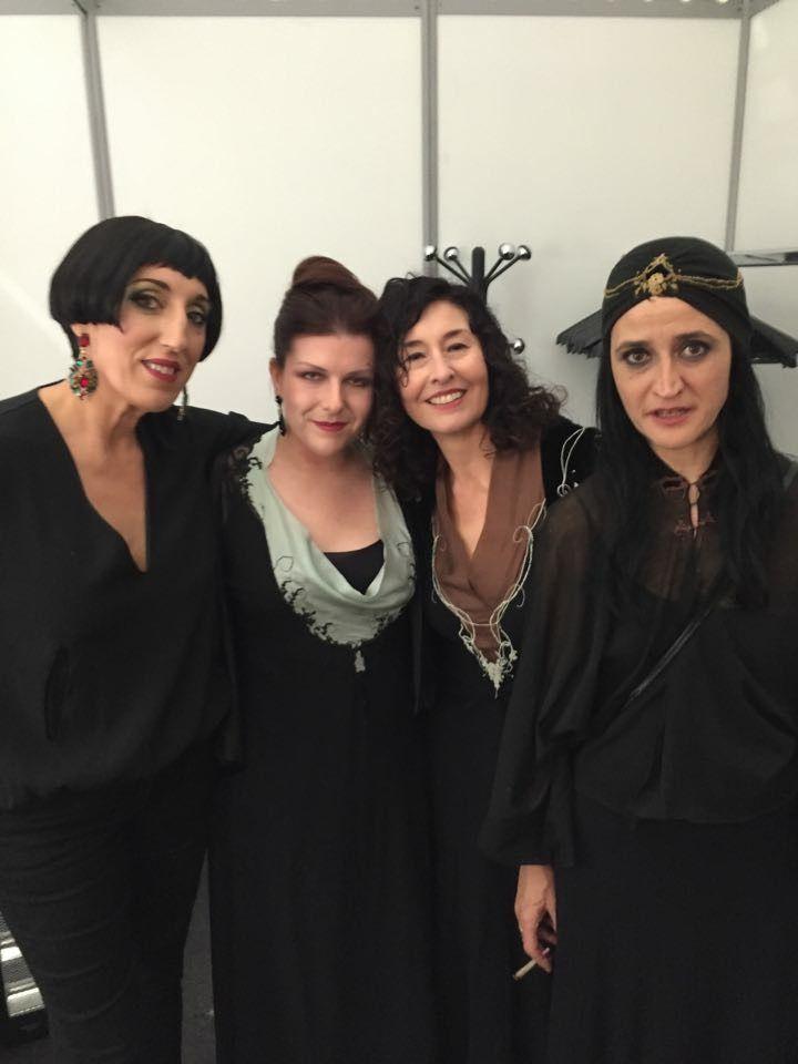 Rossy de Palma, Marine Pierrot, Carmen Martinez and Pi Piquer... Wonderful women at Gaudi Awards...