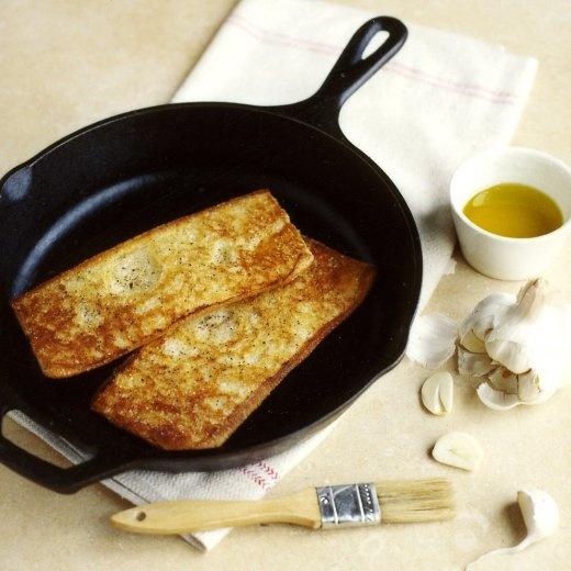 Pressed Garlic Bread